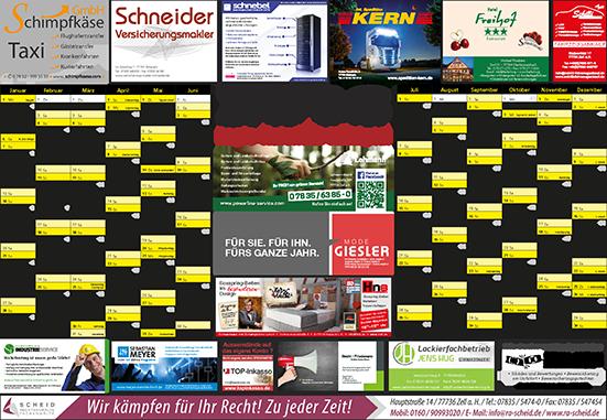 Regiokalender - RegioKalender 2018 – Kinzigtal