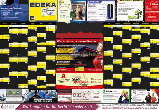 Regiokalender - RegioKalender 2018 – Offenburg