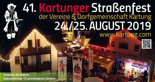 Event - Kartunger Straßenfest 2019