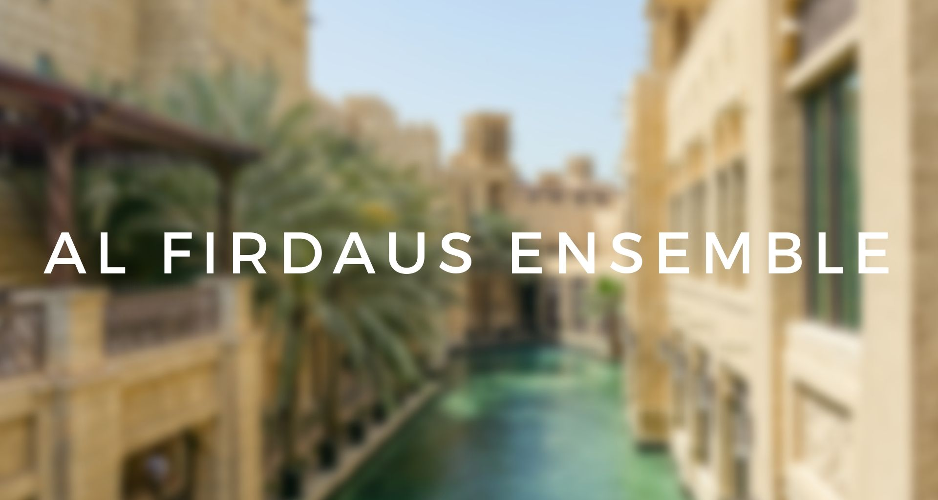 Top Event - Al Firdaus Ensemble