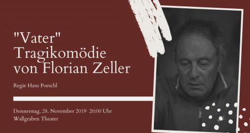 """Event - """"Vater"""" Tragikomödie von Florian Zeller"""