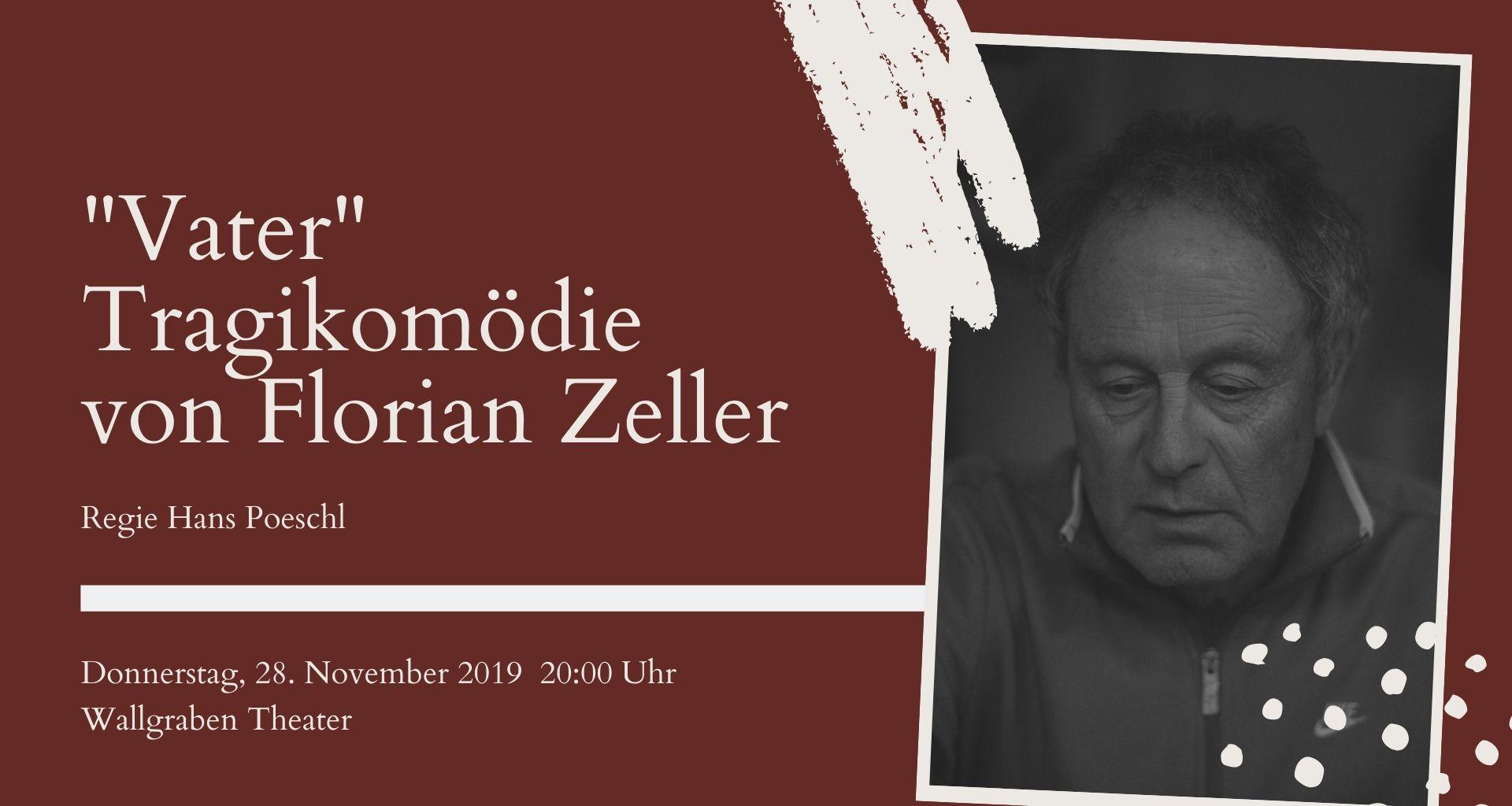 """Top Event - """"Vater"""" Tragikomödie von Florian Zeller"""