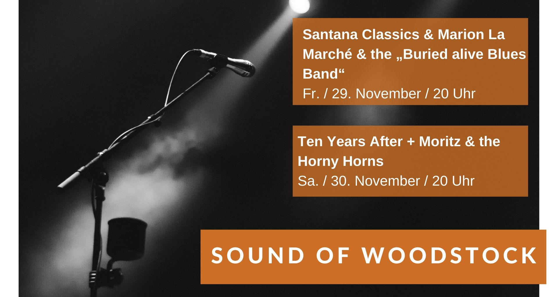 Top Event - Sound of Woodstock